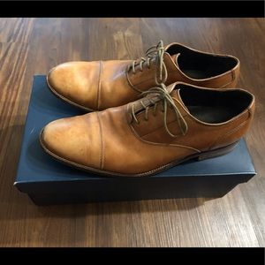 Classic light brown Cole Haan dress shoes